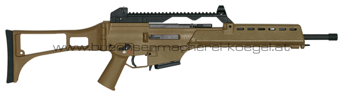 HK243 S SAR | Semi Automatic Rifle - Sporter Basisvariante schwarz und grün braun (RAL (8000)