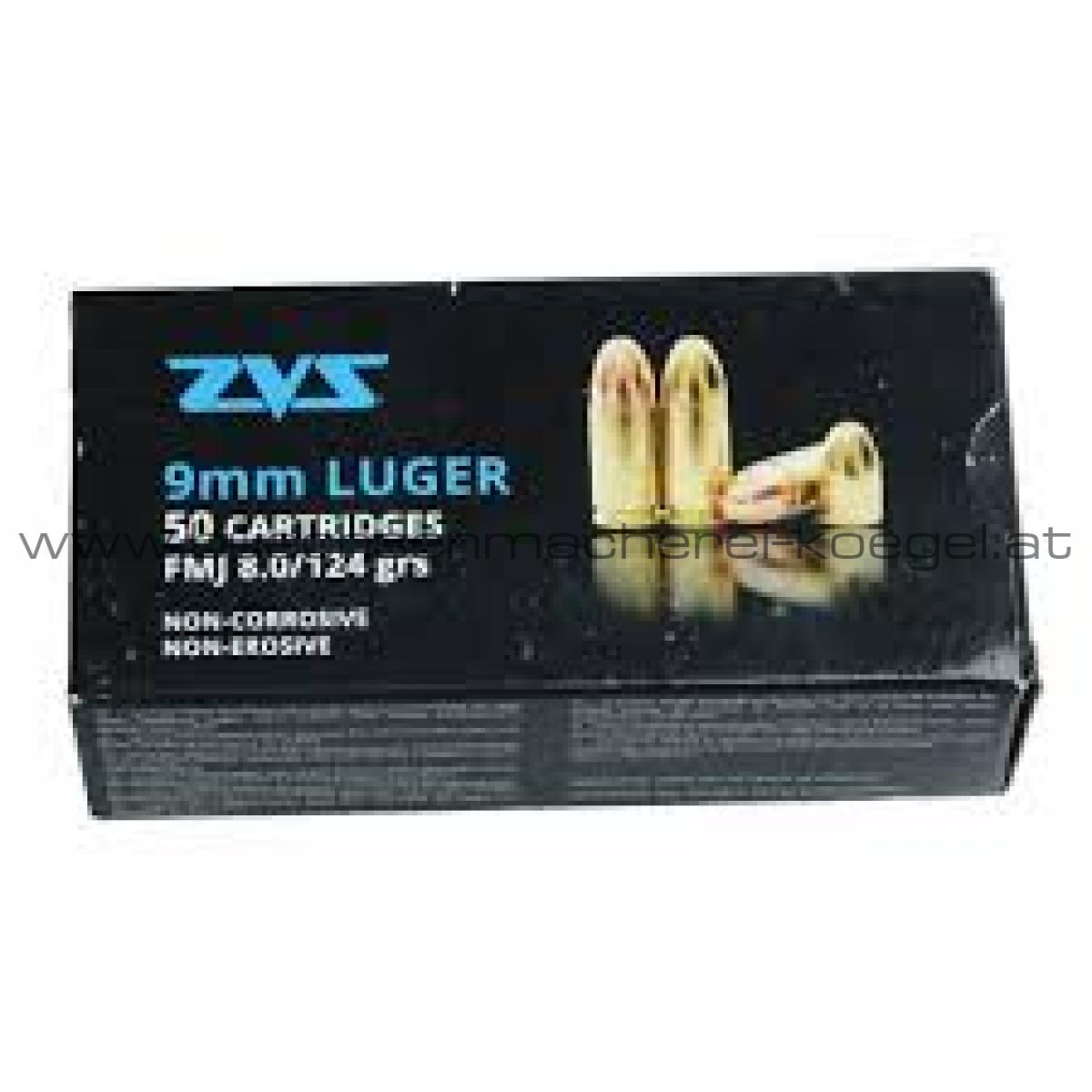 ZVS 9mm Luger 124 grain