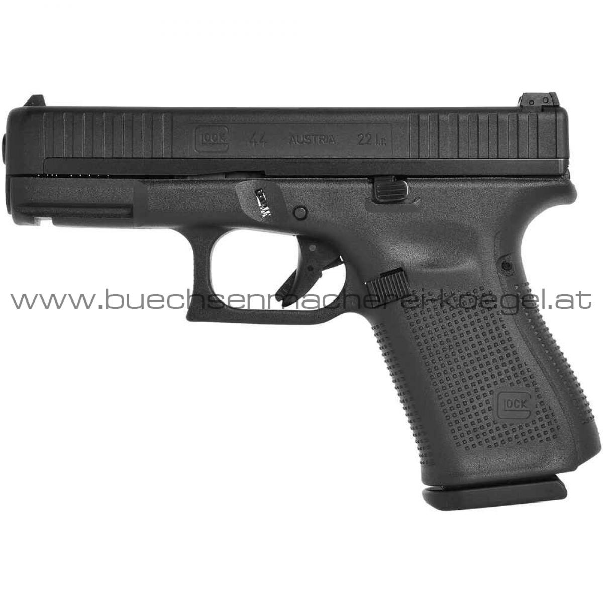 Glock Pistole 44 FS ,22lfb Marksmanlauf