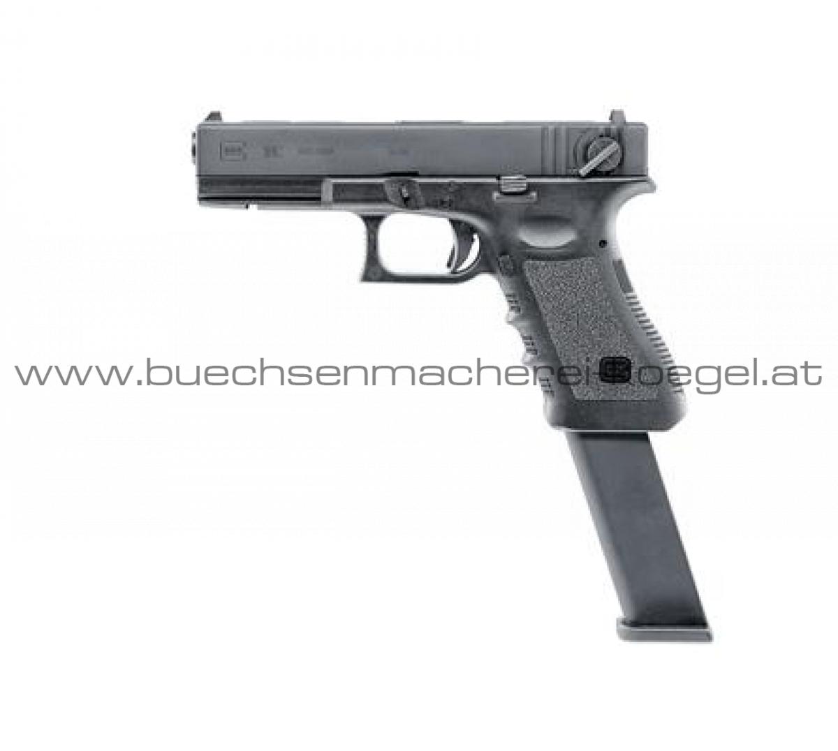 Glock 18C, Blowback Metallschlitten Vollauto 4,5MM