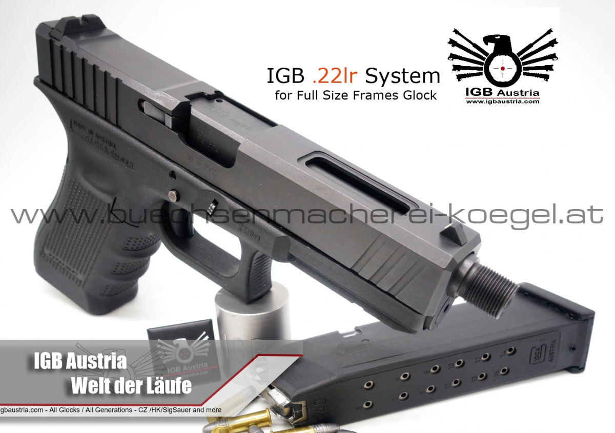 IGB Glock ,22 lfb Wechselsysteme