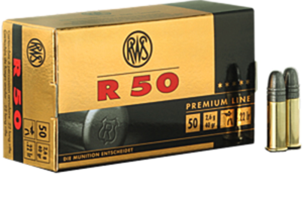 RWS R50 KK Patrone