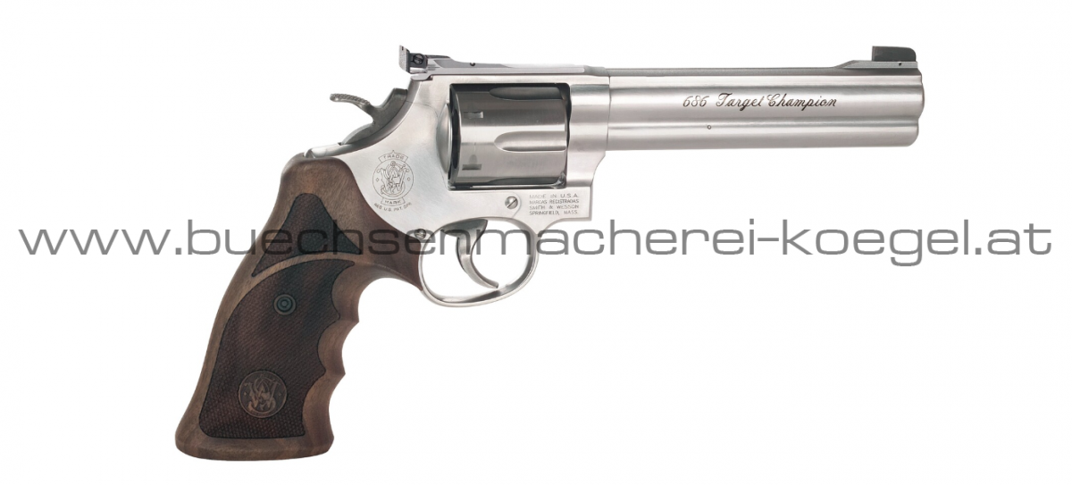 S&W Revolver Mod. 686 Target Champion, cal. .357 Magnum, 6 Zoll
