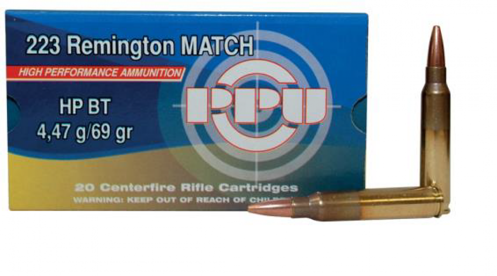 PPU Munition ,223 REM